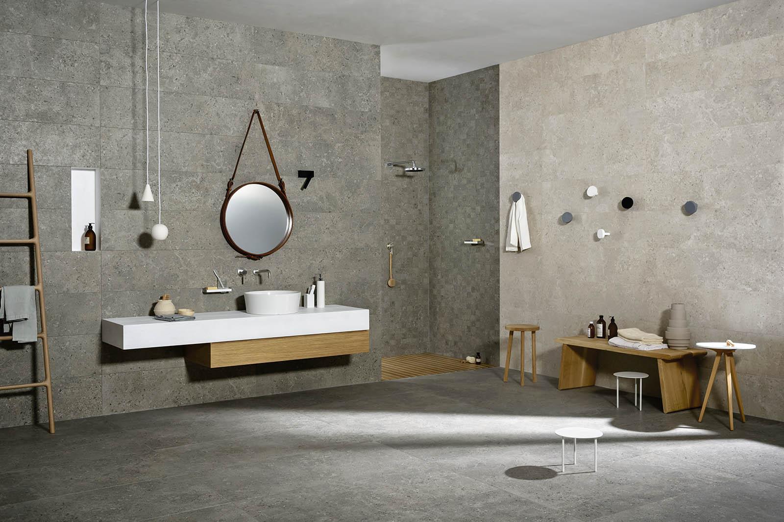 Muri Interni Grigi : Colori per muri interni. elegant piastrelle per muri interni colori