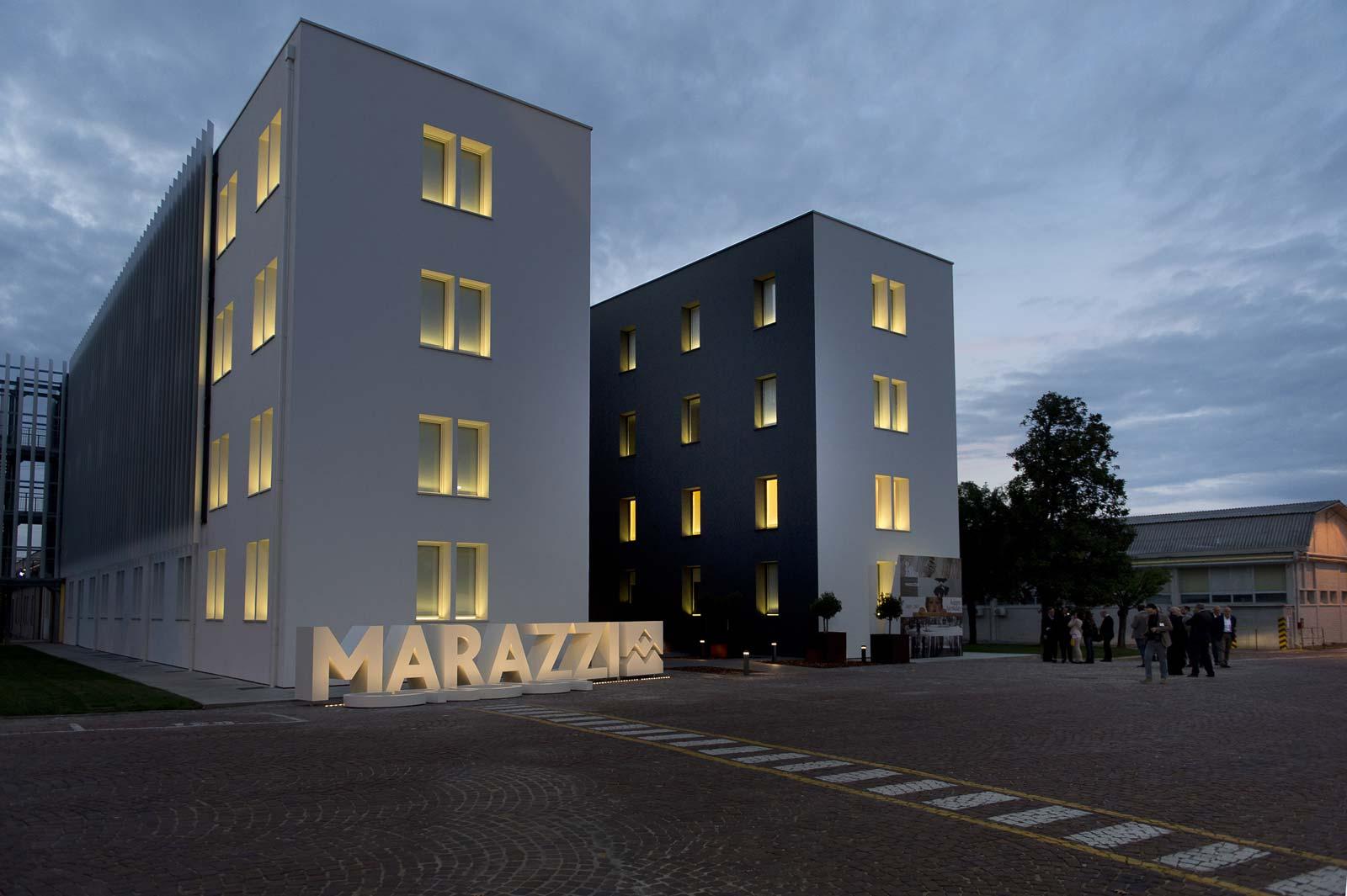inaugurata la nuova sede principale della marazzi marazzi