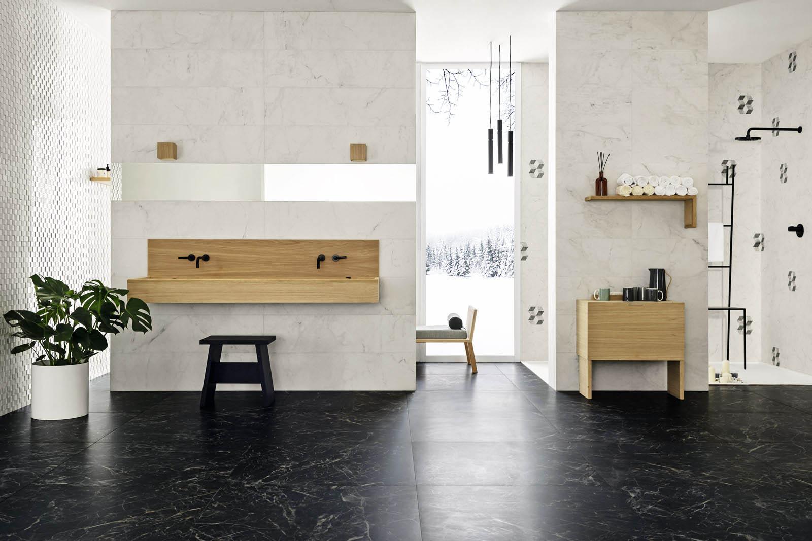 bagno classico ed elegante
