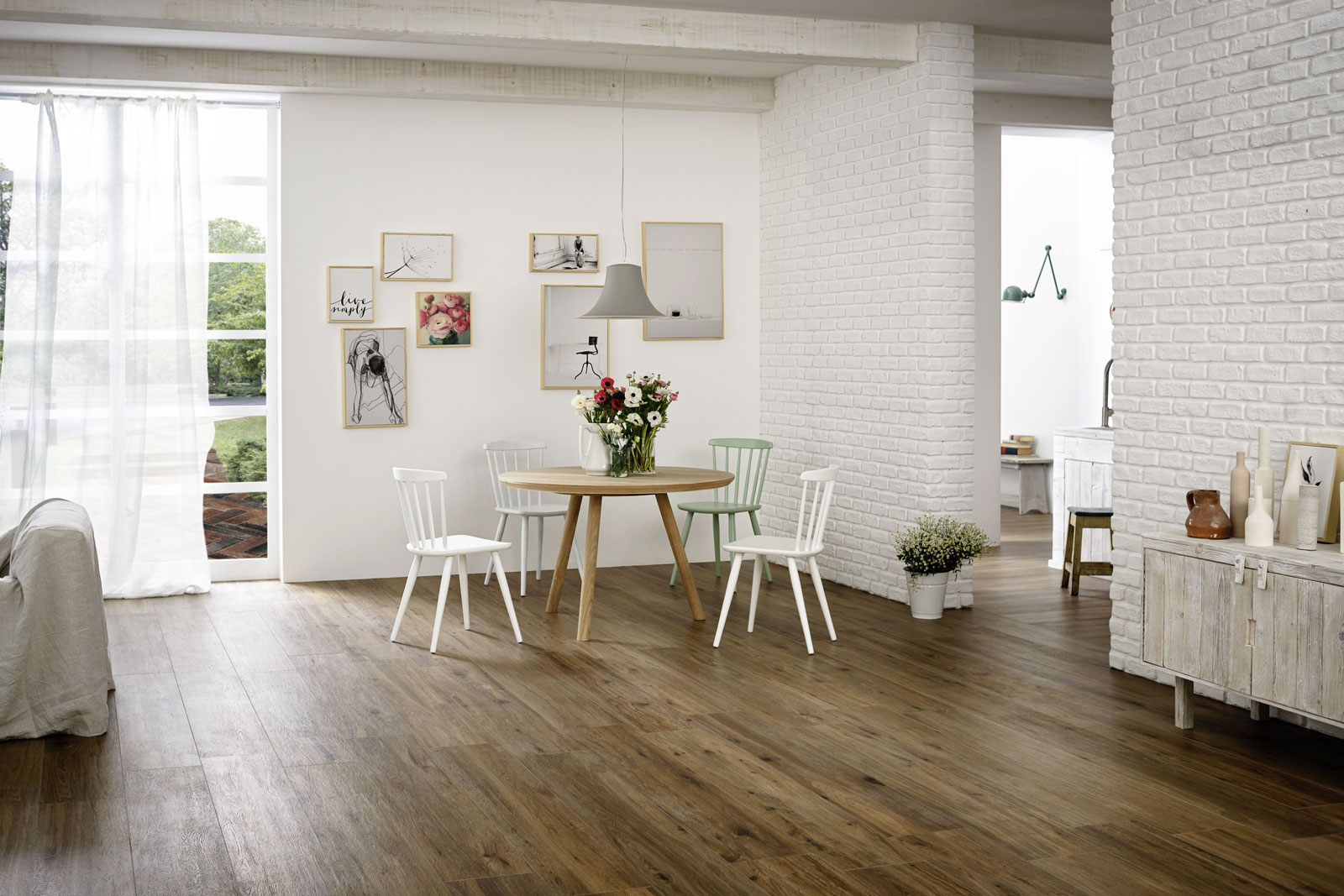 Gres effetto legno senza fuga mattonelle effetto legno gres