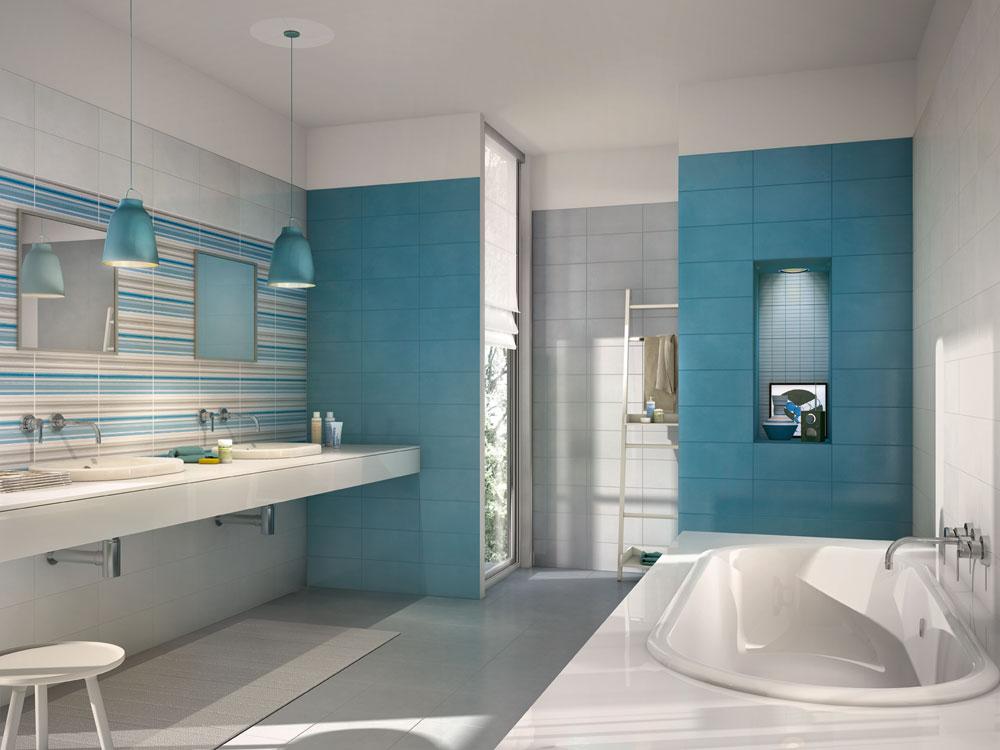 Le proposte marazzi per i rivestimenti bagno marazzi - Rivestimenti piastrelle bagno ...