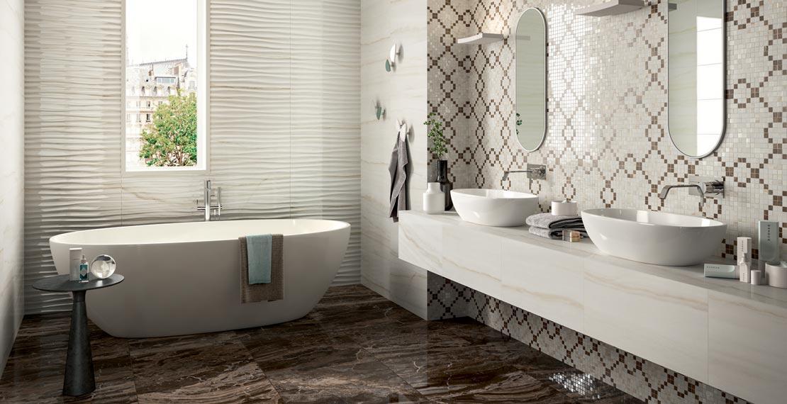 Bagno classico ed elegante marazzi - Arredo bagno classico elegante prezzi ...