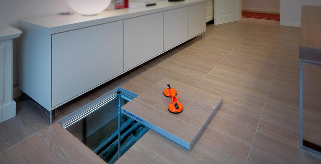 Pavimenti sopraelevati marazzi funzionalit e vantaggi for Pavimento in legno interno