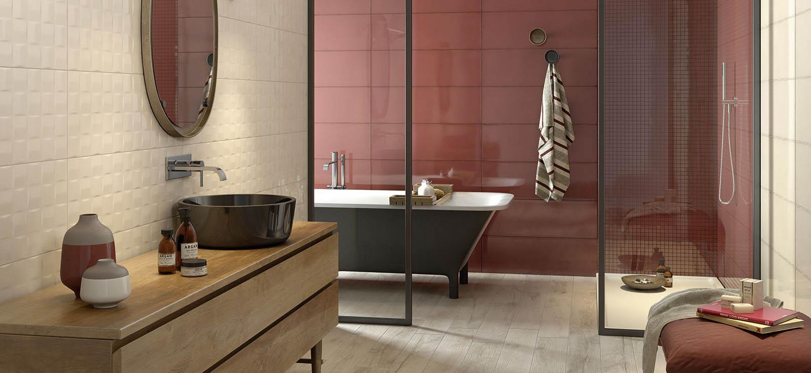 Pottery smalto brillante in 7 diversi colori per - Smalto piastrelle bagno ...