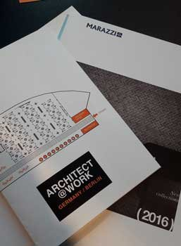 Marazzi a Berlino con Architect@work
