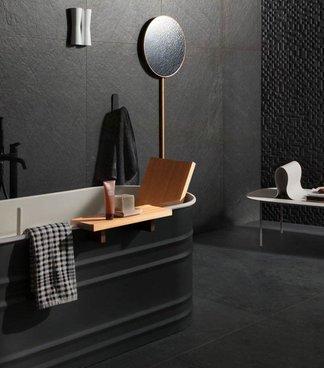 Pareti in pietra per interni minimal marazzi - 94 si fa in bagno ...