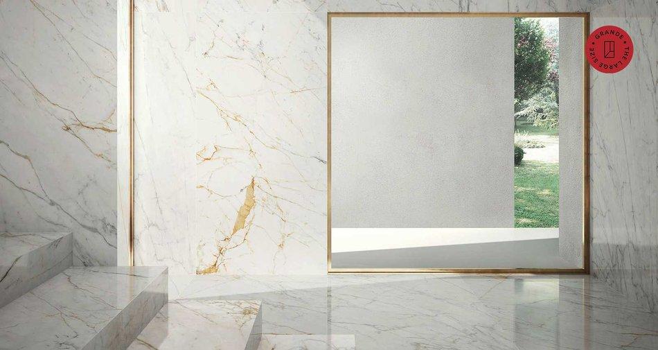 Grande Marble Look Il Gres Sottile Effetto Marmo Marazzi