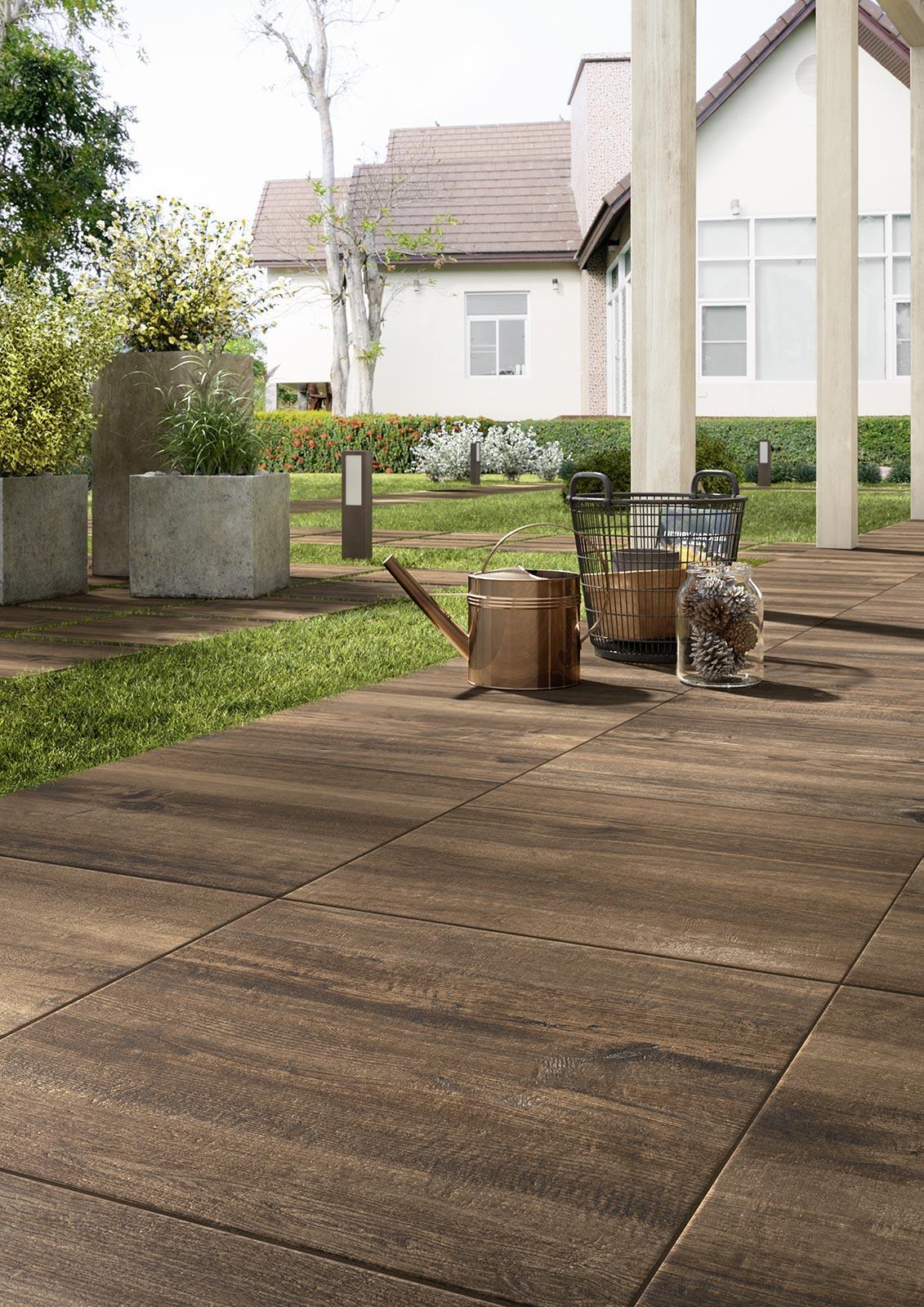 pavimenti per giardini gres da esterno marazzi. Black Bedroom Furniture Sets. Home Design Ideas