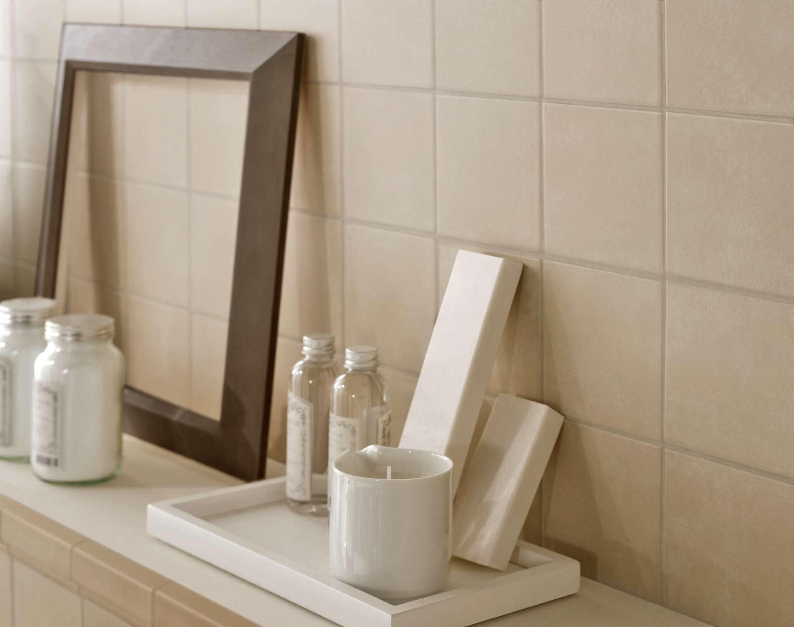 Bagno Beige E Bianco : Progress gres porcellanato effetto cemento marazzi