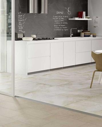 Gres porcellanato effetto pietra per cucina marazzi for Piastrelle cucina marazzi
