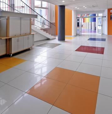 Pavimento Piastrelle Arancione Marazzi