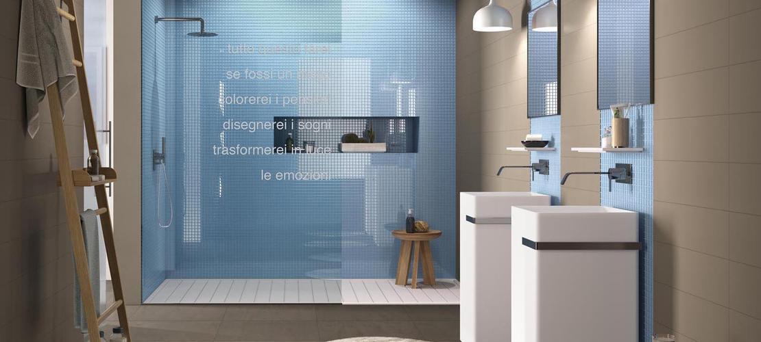 Gres porcellanato azzurro consulta le collezioni marazzi - Piastrelle mosaico bagno marazzi ...
