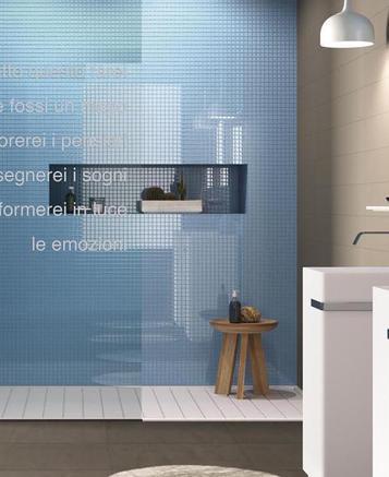 Rivestimenti in bagno scopri le collezioni marazzi - Piastrelle mosaico bagno marazzi ...