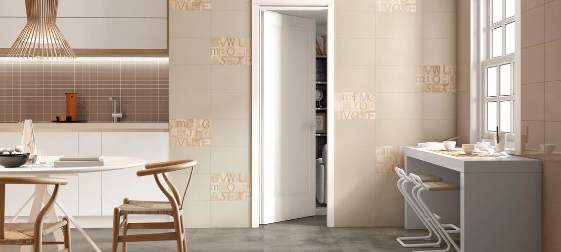 ... porcellanato decorato per rivestimenti di bagni e cucine  Marazzi