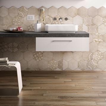 Gres porcellanato effetto legno per bagno marazzi - Gres porcellanato effetto legno per bagno ...