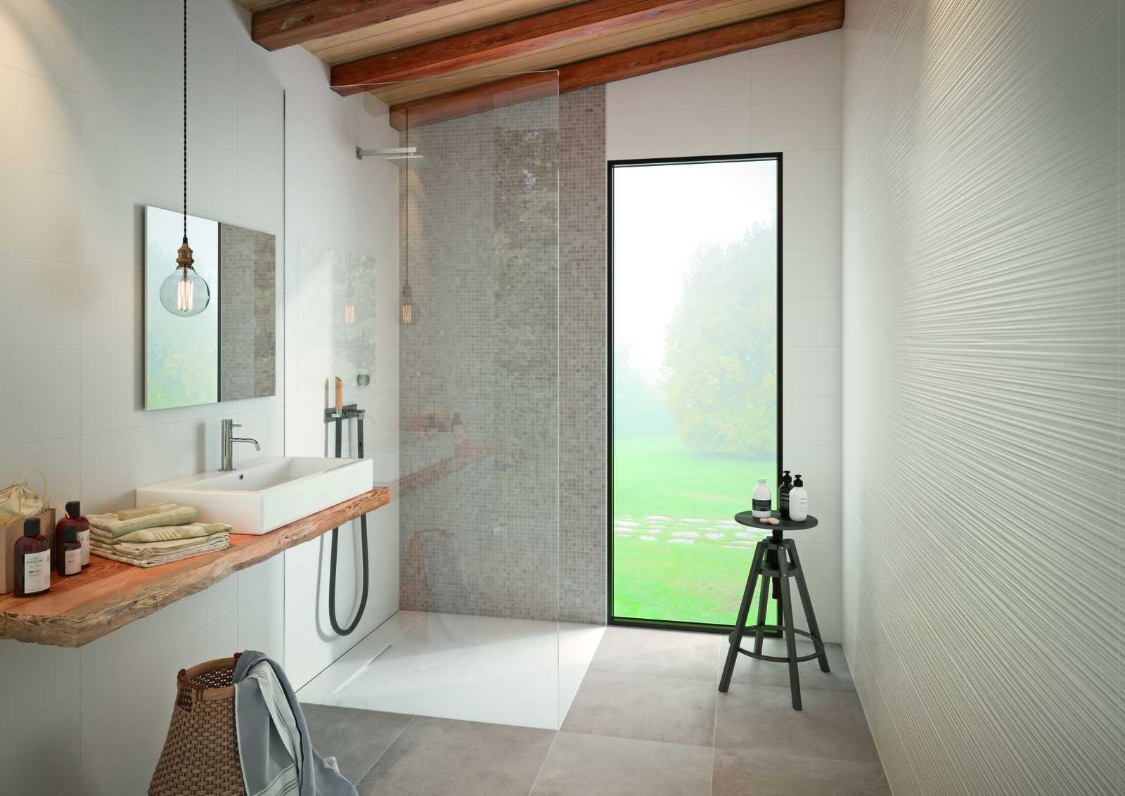 mattonelle per bagno: ceramica e gres porcellanato | marazzi - Piastrelle X Bagni Moderni