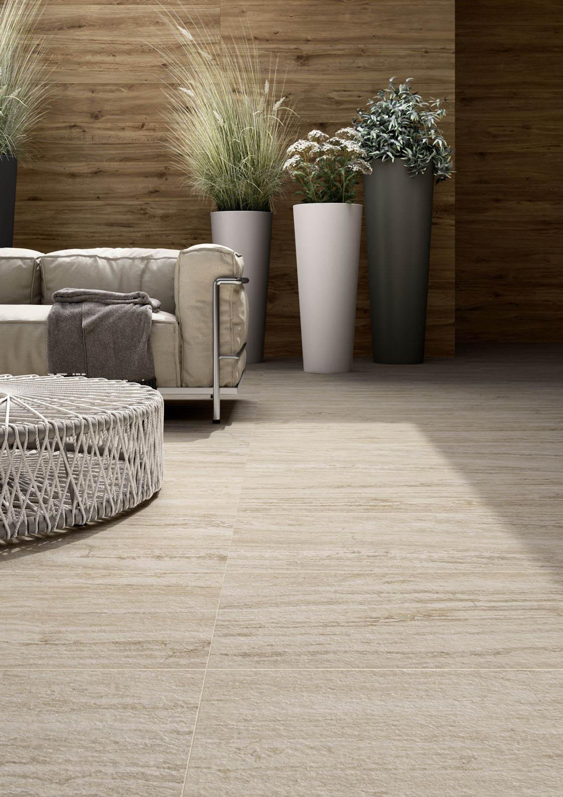 Pavimenti per esterni piastrelle gres porcellanato marazzi - Piastrelle per pavimenti ...