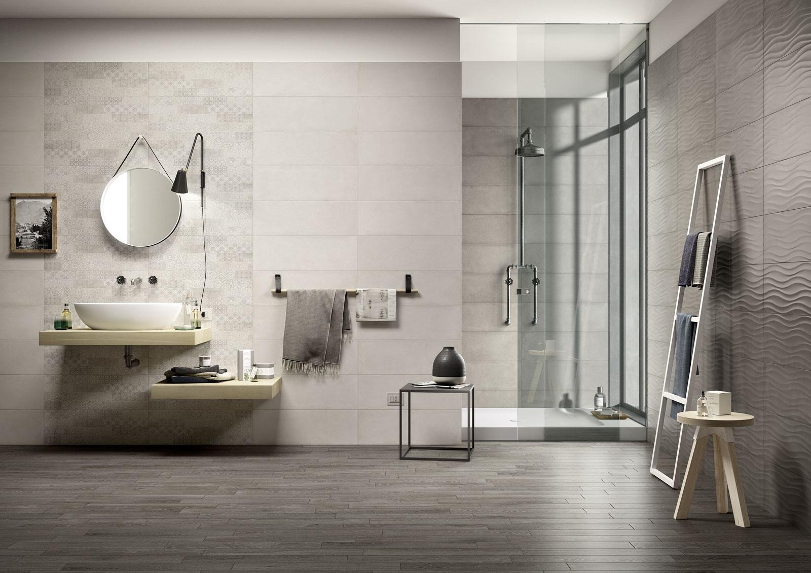 Clayline rivestimento per bagno marazzi for Ceramiche da bagno