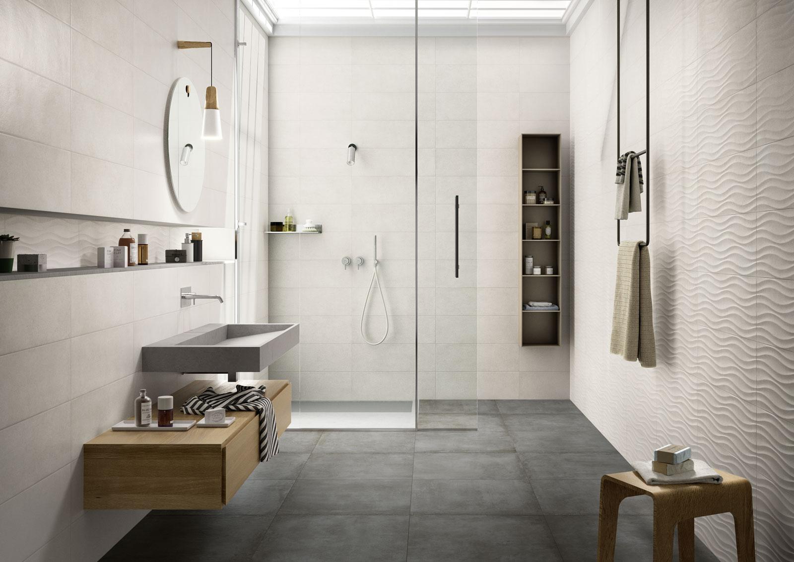 Clayline rivestimento per bagno marazzi for Marazzi piastrelle