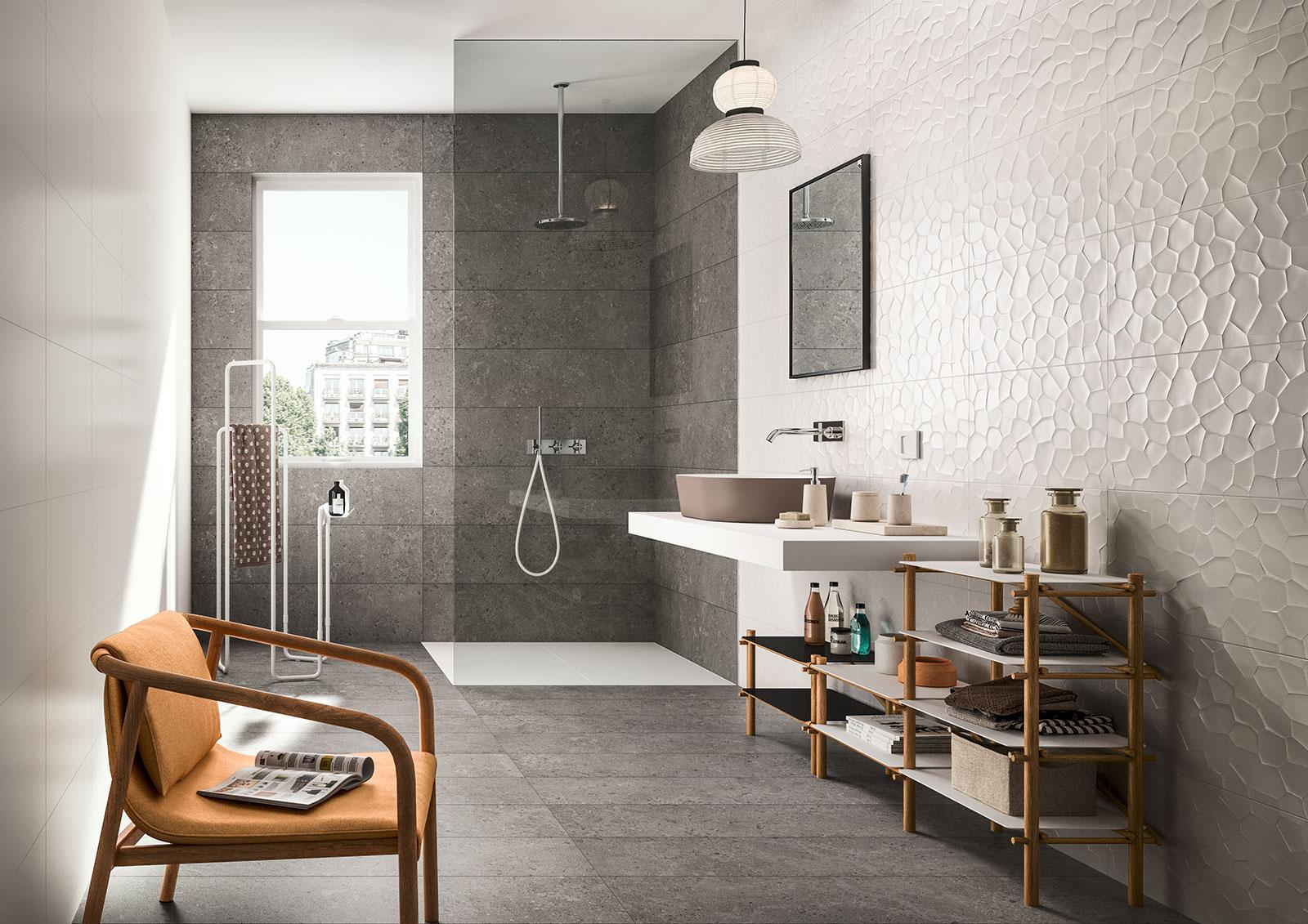 Piastrelle per rivestimenti cucina bagno doccia marazzi - Rivestimenti bagno marazzi ...