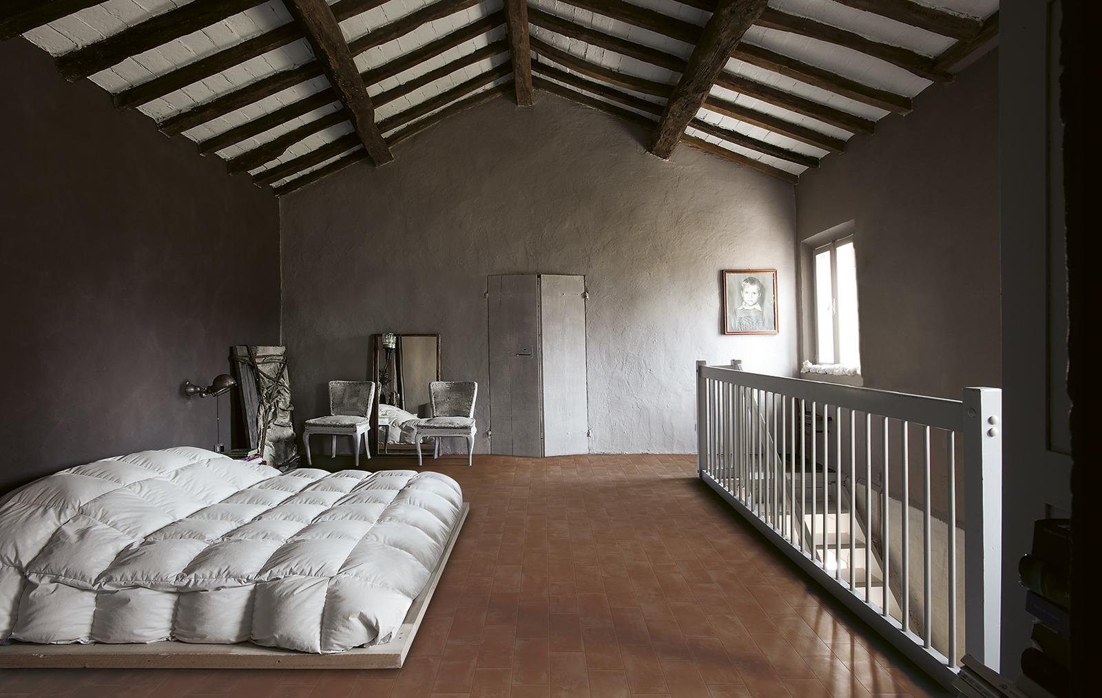 Piastrelle camera da letto idee in ceramica e gres marazzi - Idea camera da letto ...