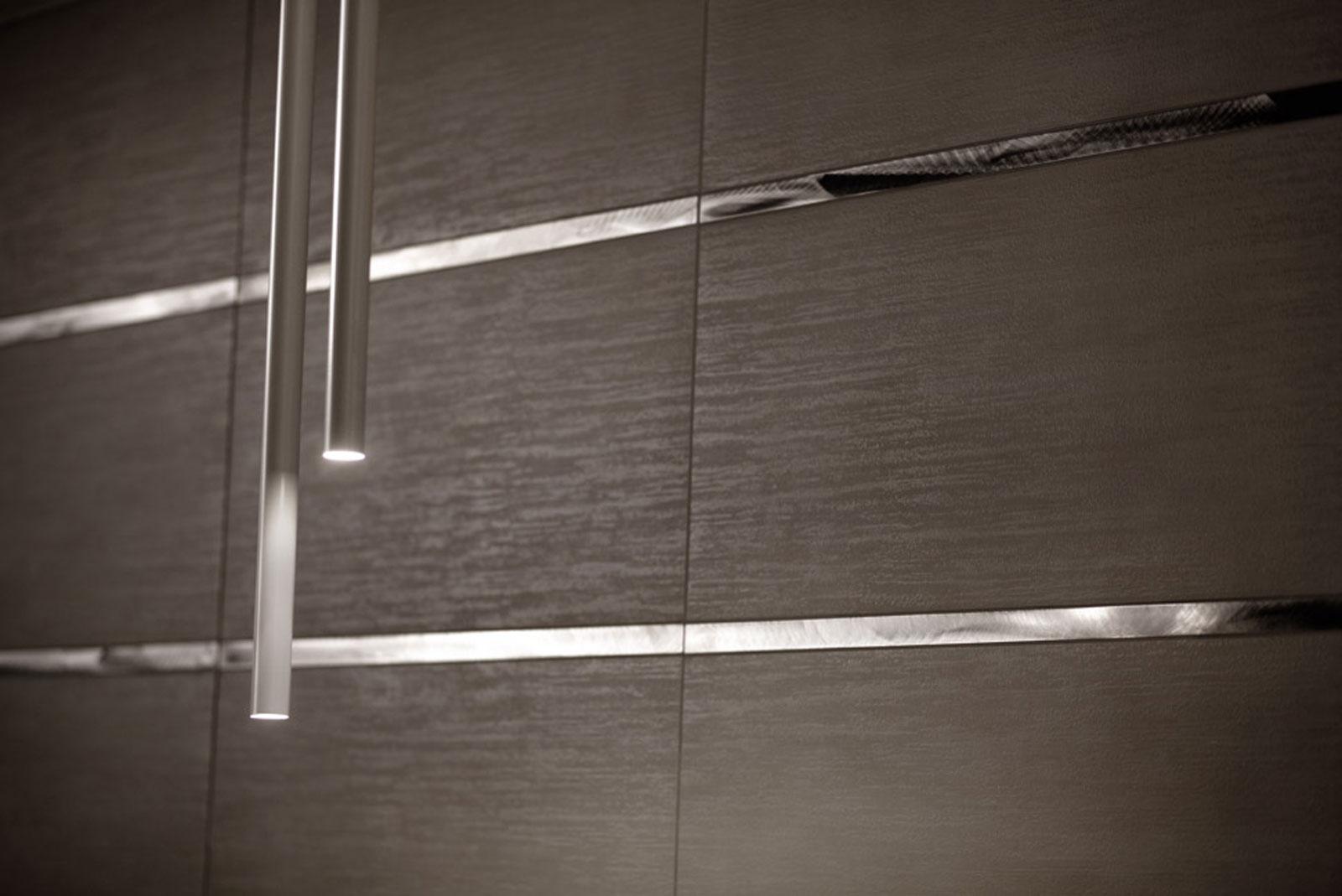 piastrelle nere lucide ~ Comarg.com = Lussuoso Design del Bagno con ...