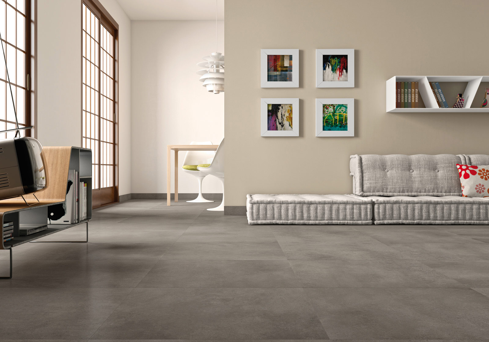 Denver - Gres porcellanato effetto cemento   Marazzi