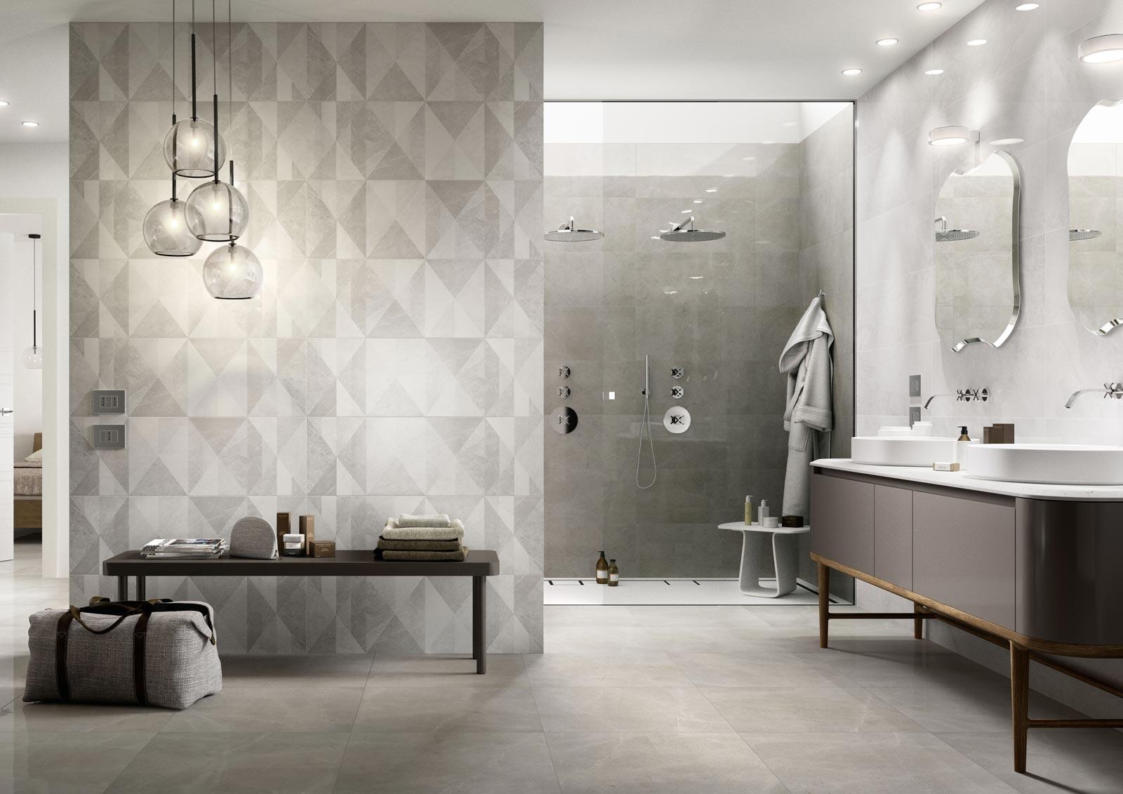 Mattonelle per bagno ceramica e gres porcellanato marazzi - Soluzioni no piastrelle cucina ...