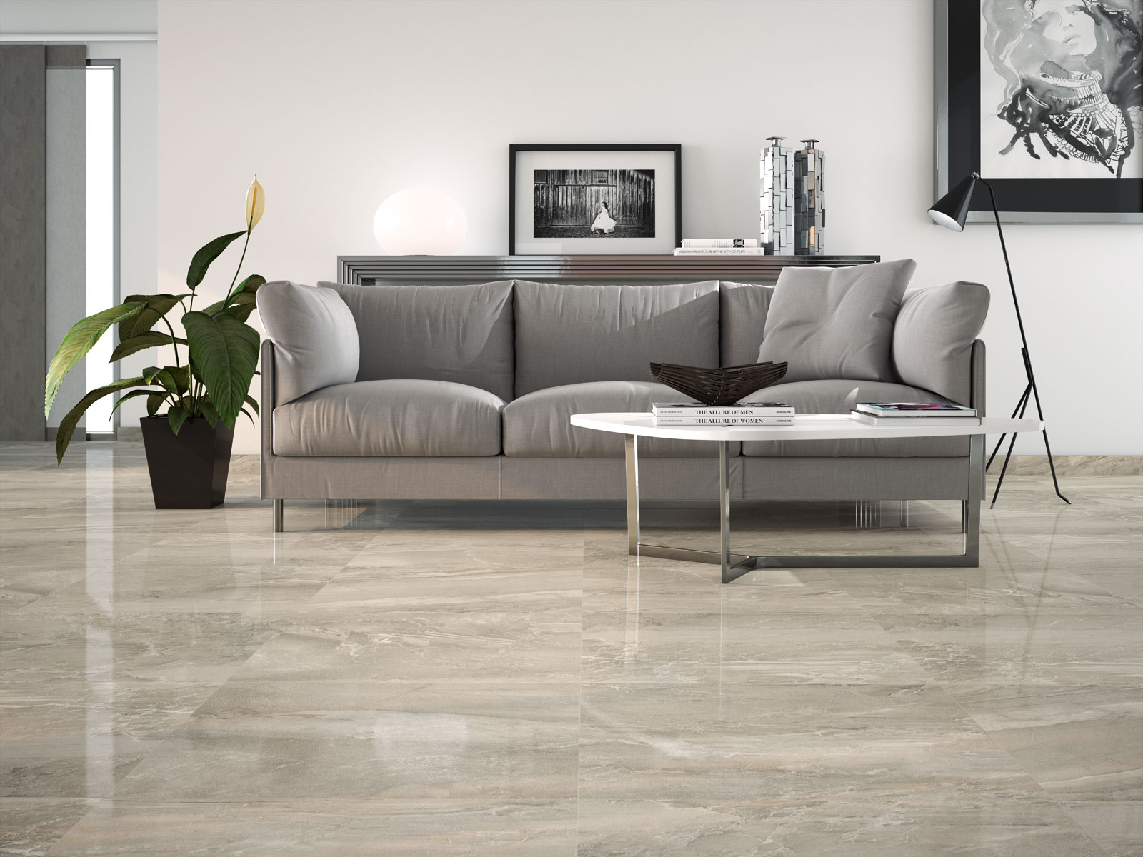 Lithos gres effetto marmo marazzi - Piastrelle gres porcellanato effetto marmo ...