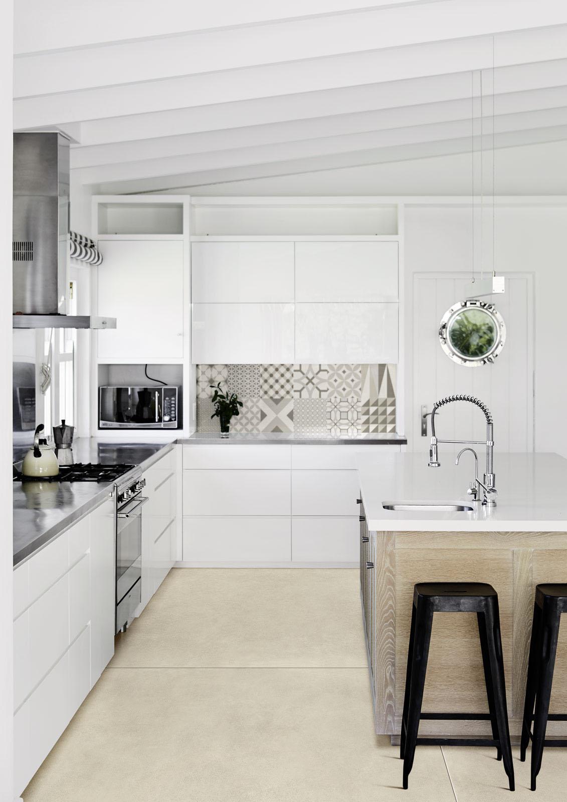 Piastrelle cucina idee in ceramica e gres marazzi - Soluzioni no piastrelle cucina ...