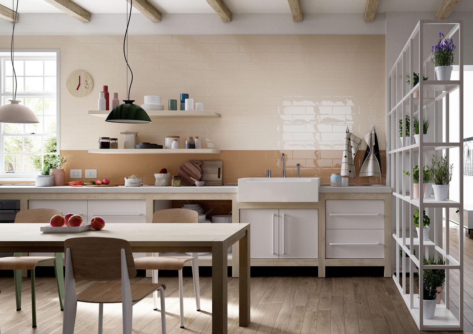 Mellow piastrelle ceramica da rivestimento marazzi - Pomelli ceramica per cucina ...