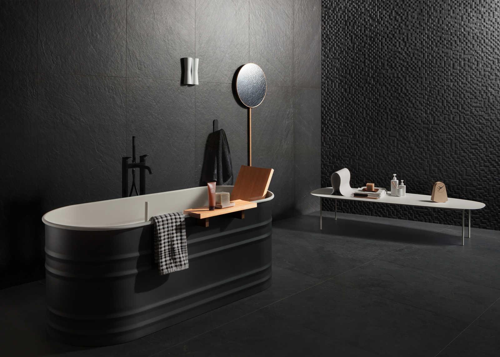 Mattonelle per bagno moderno great piastrelle bagno moderno rosso