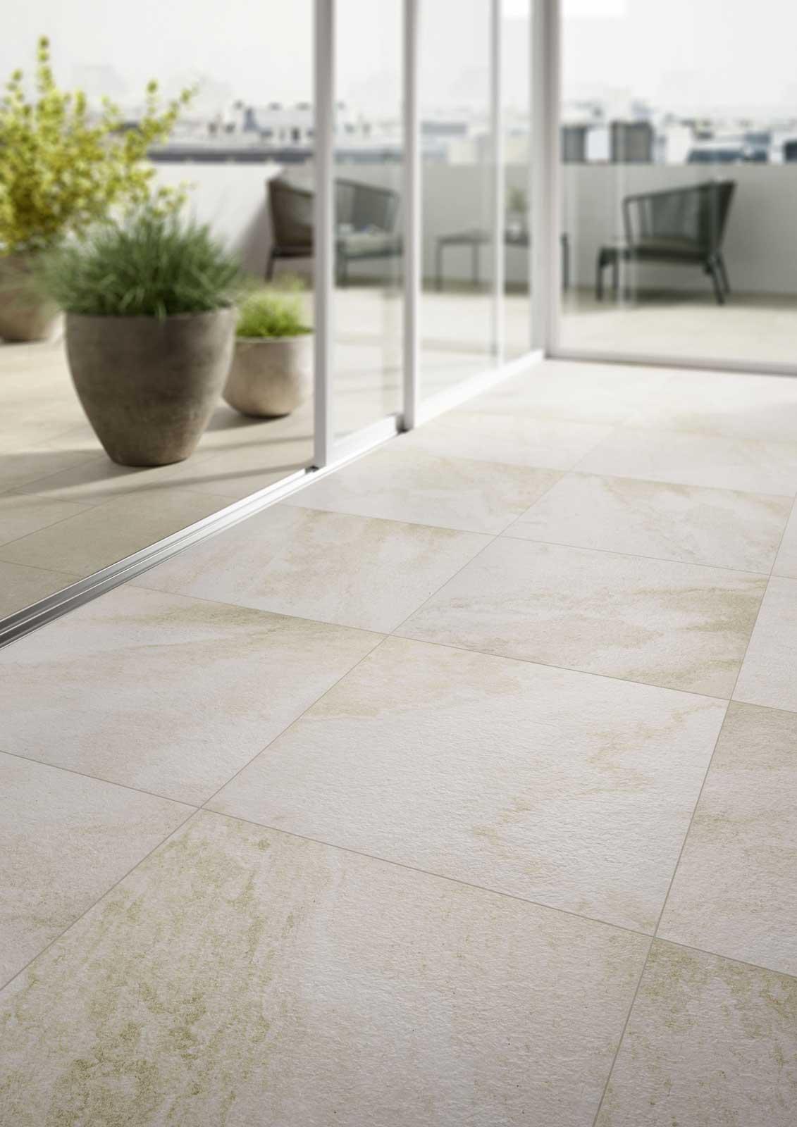Pavimenti per interni ed esterni le collezioni marazzi - Pavimenti in piastrelle di ceramica ...