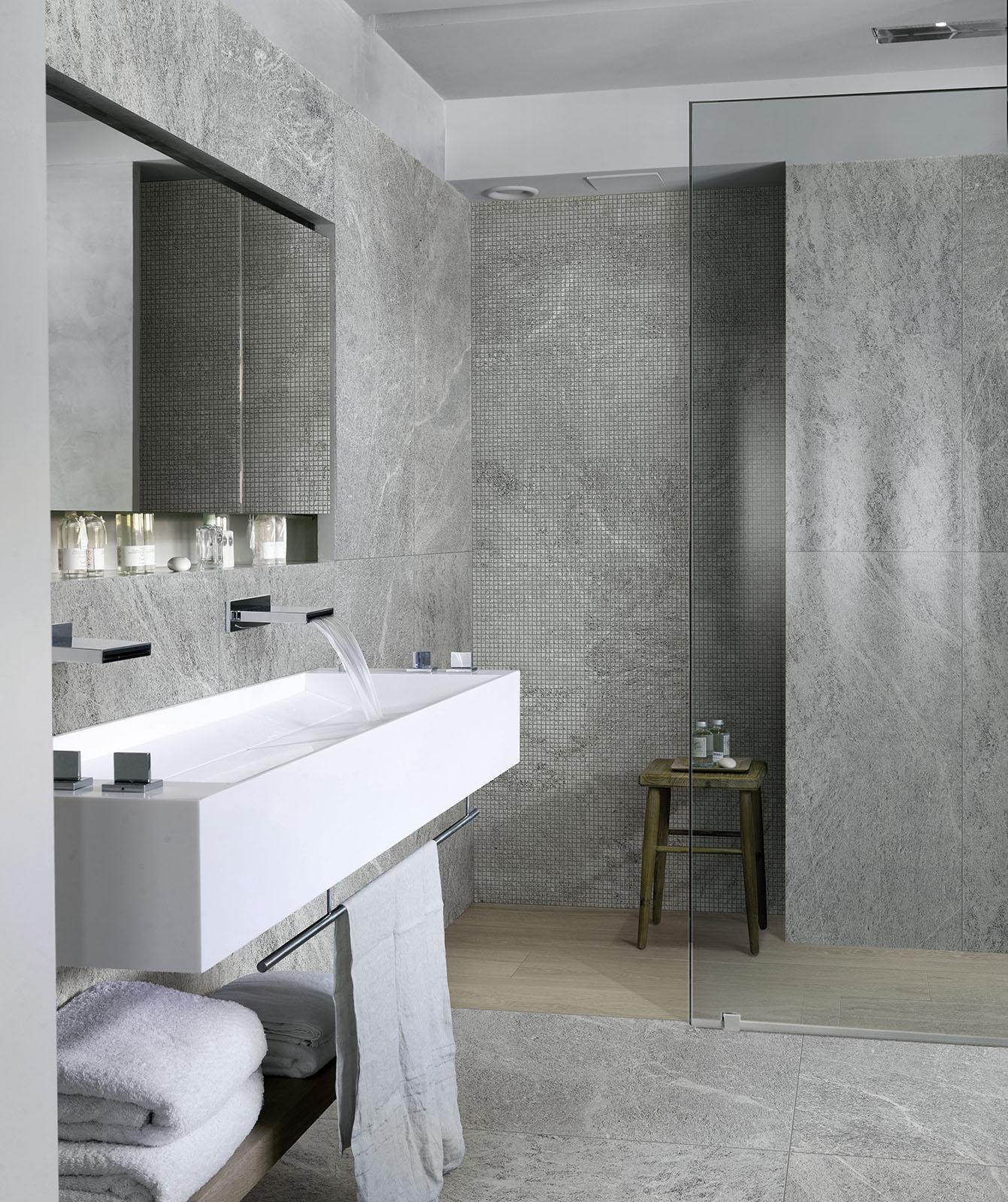mattonelle per bagno: ceramica e gres porcellanato | marazzi - Placcaggi Bagni Moderni