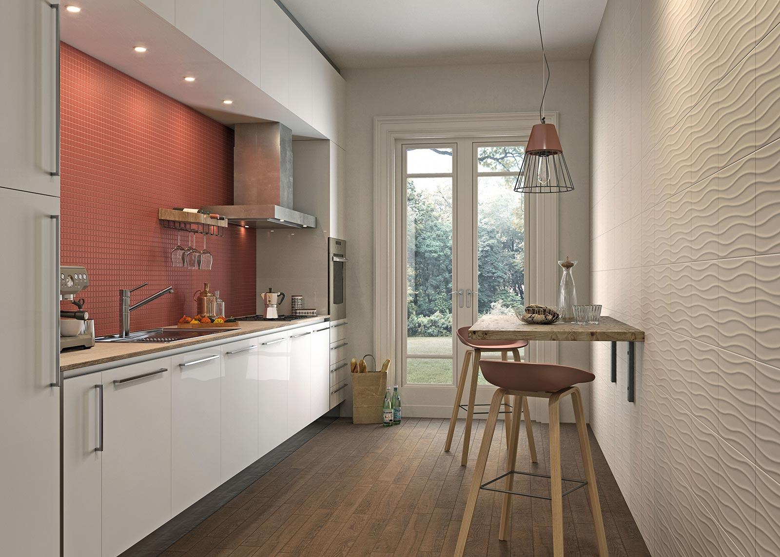 piastrelle cucina: idee in ceramica e gres | marazzi - Ceramica Cucina