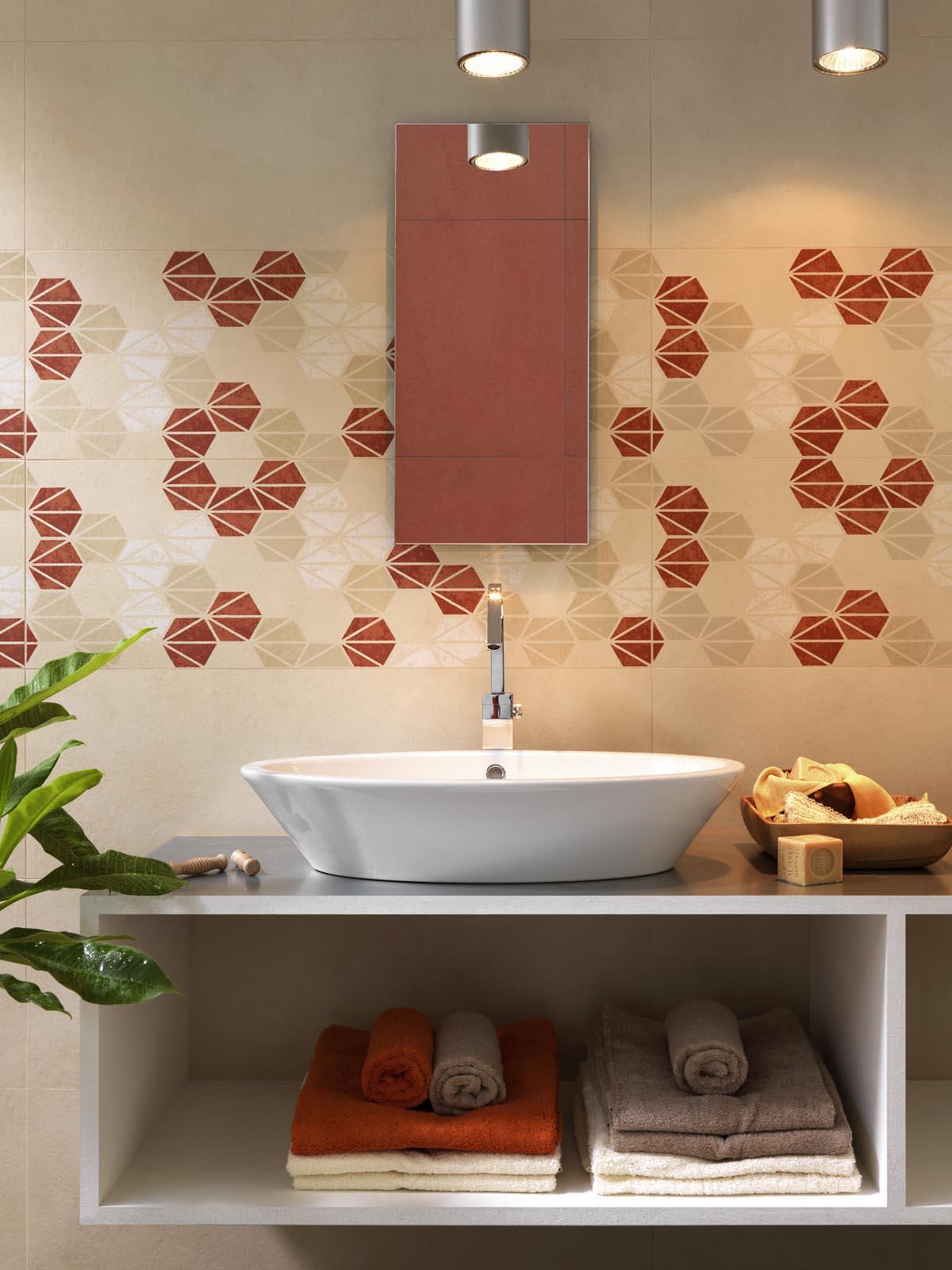 Oficina7 piastrelle rivestimento bagno marazzi - Piastrelle bagno beige ...
