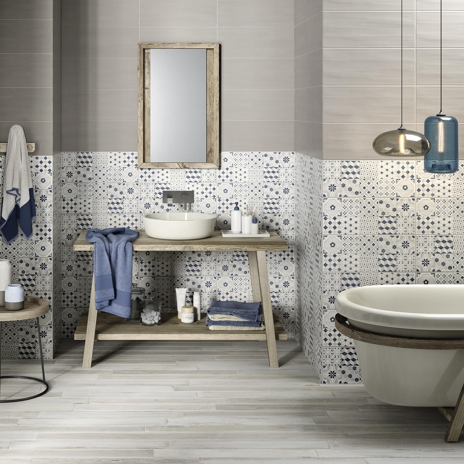 Paint rivestimento bagno e cucina marazzi - Rivestimento cucina bianco ...
