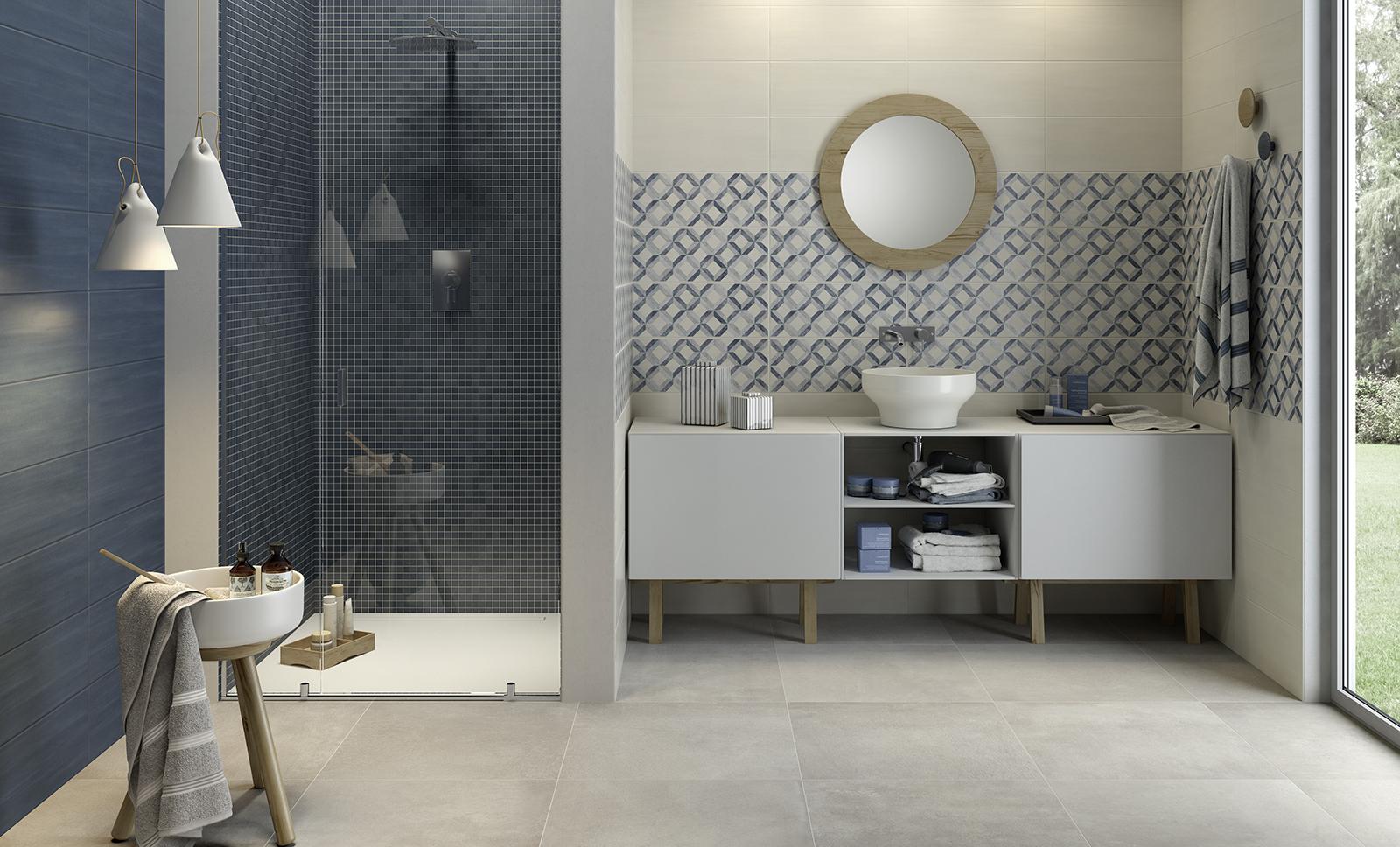 Paint rivestimento bagno e cucina marazzi - Piastrelle diamantate bagno ...