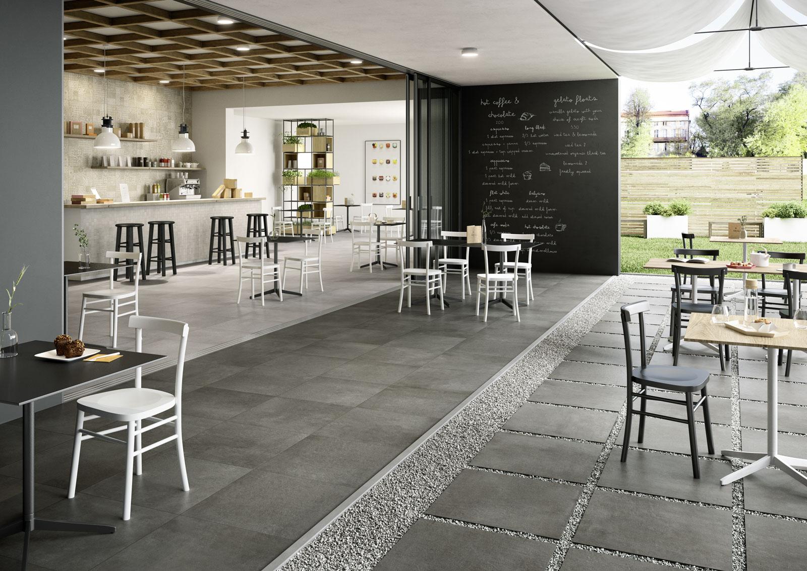 Pavimenti per interni ed esterni le collezioni marazzi for Idee design interni