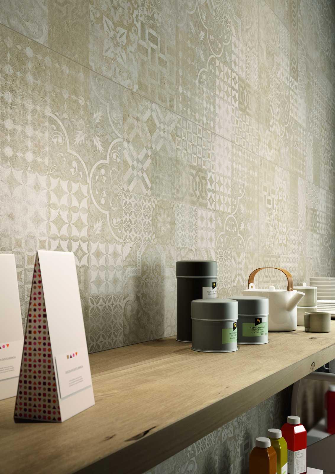 Plaster gres porcellanato effetto cemento marazzi - Catalogo piastrelle cucina ...