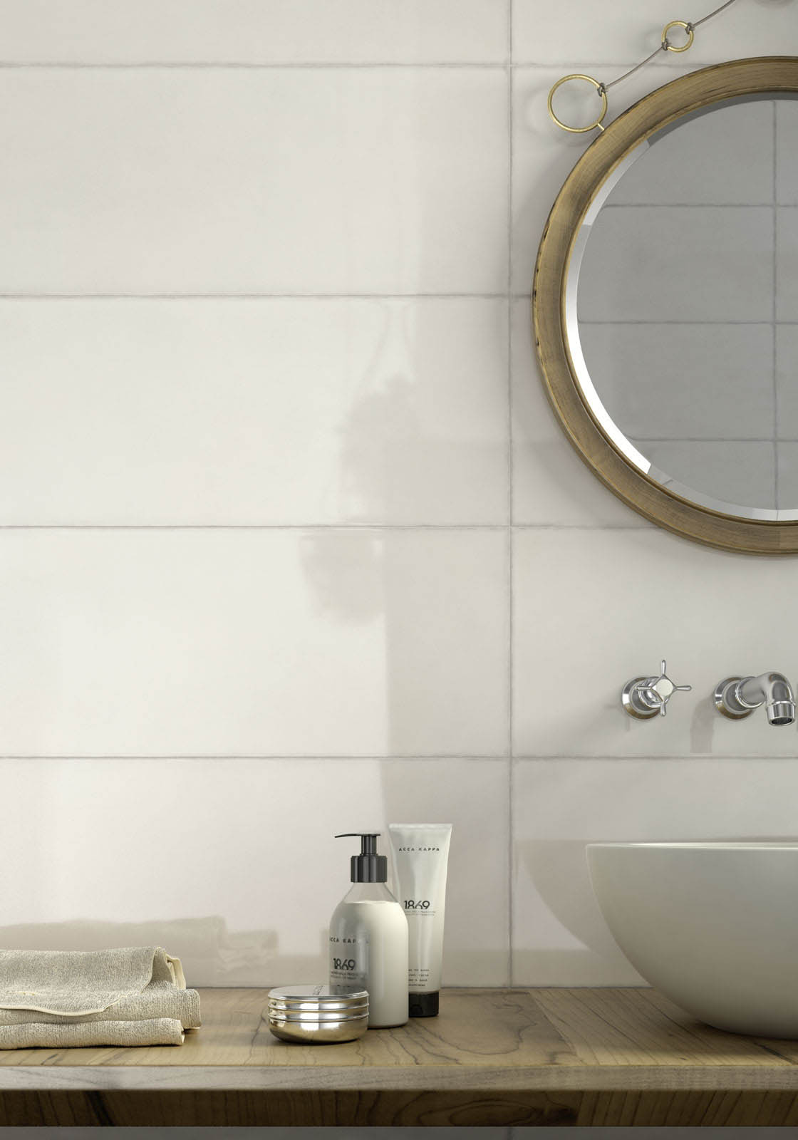Pottery piastrelle da rivestimento lucide marazzi - Piastrelle bianche 30x30 ...