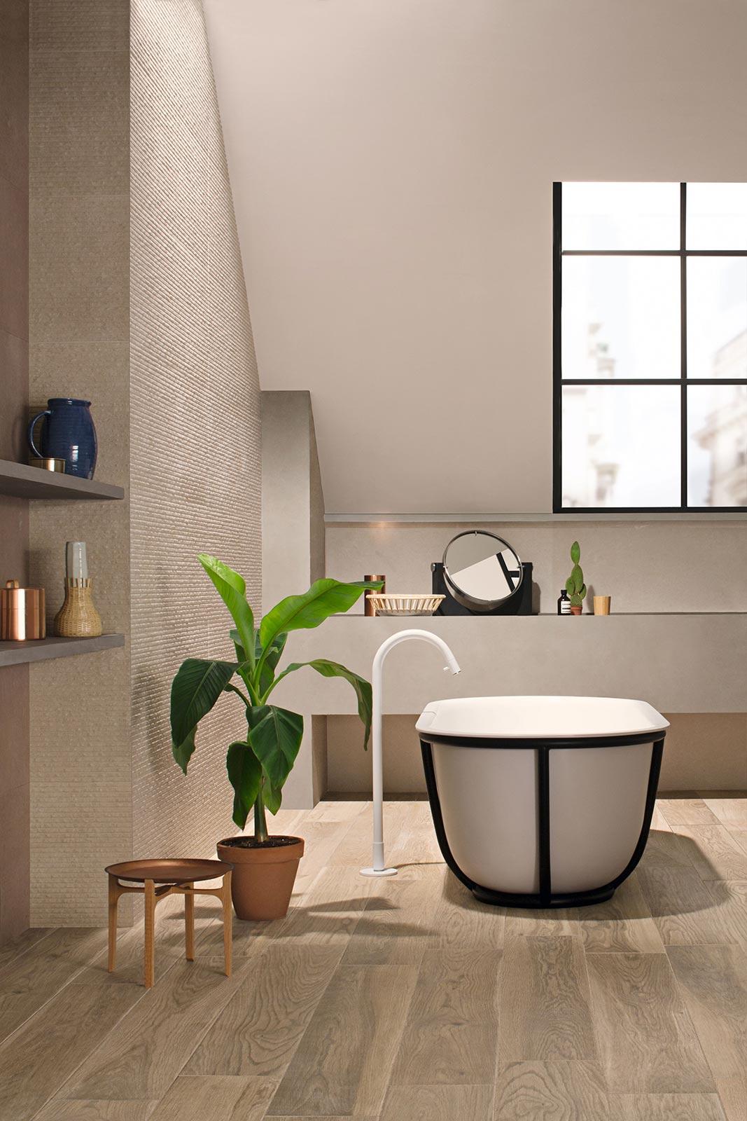 Mattonelle Per La Cucina : Mattonelle per bagno ceramica e gres porcellanato marazzi
