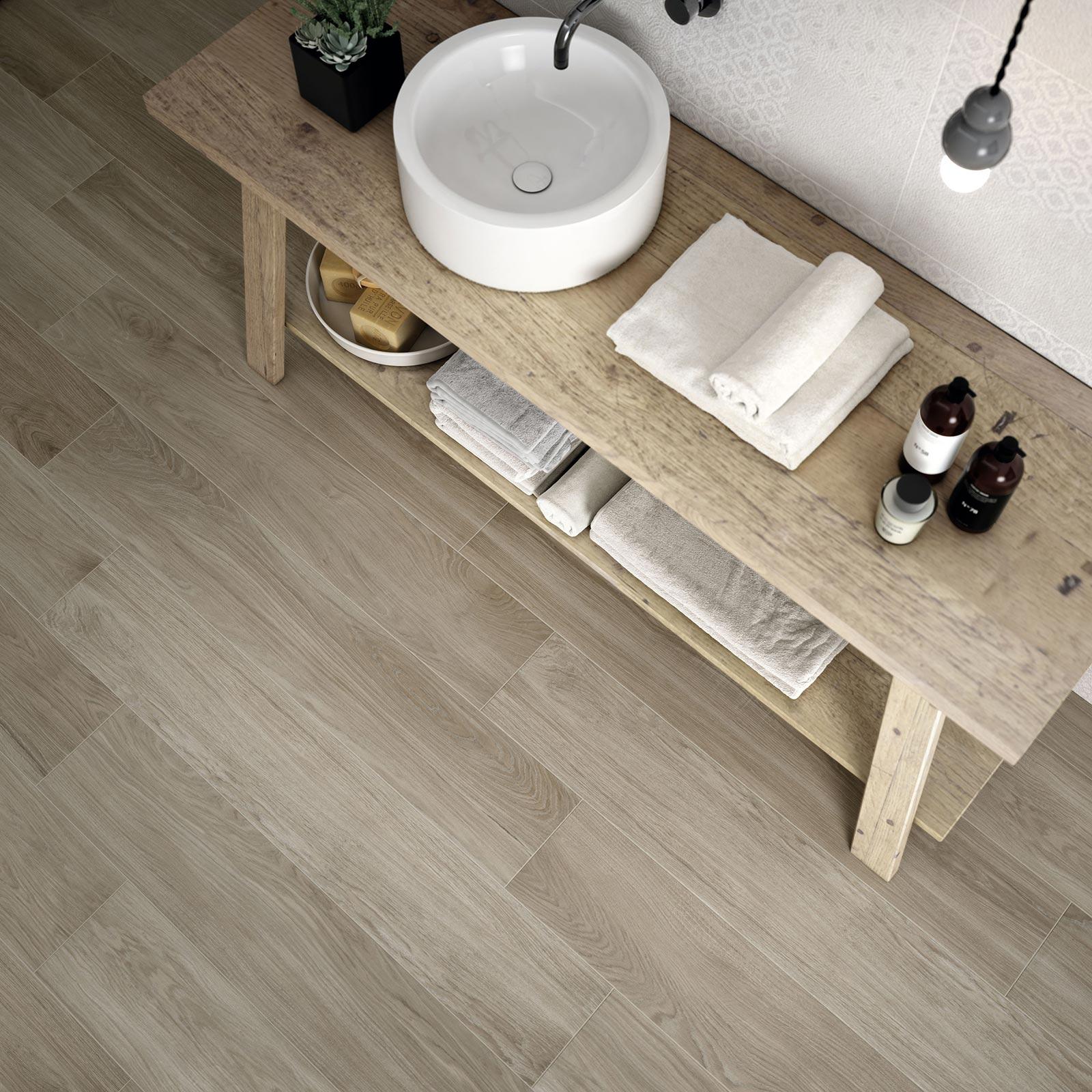 Gres porcellanato effetto legno e parquet marazzi - Gres porcellanato effetto legno bagno ...