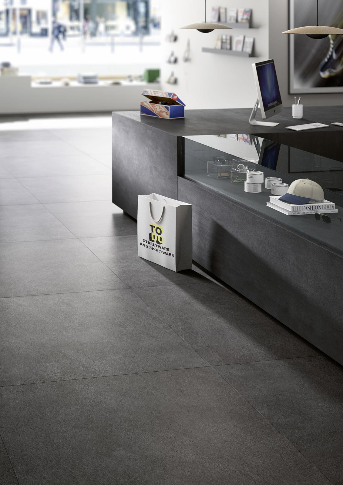 Xlstone gres effetto pietra grande formato marazzi - Piastrelle maxi formato ...