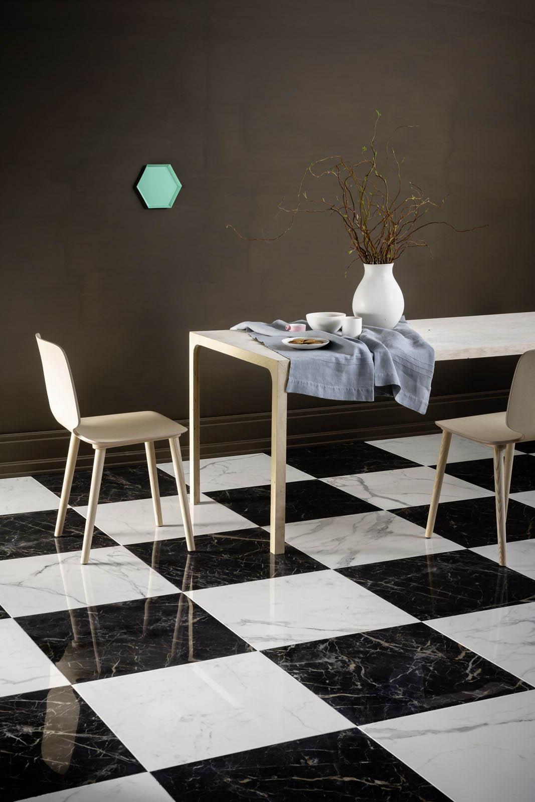 Gres porcellanato marmo scopri le collezioni marazzi - Bagno effetto marmo ...