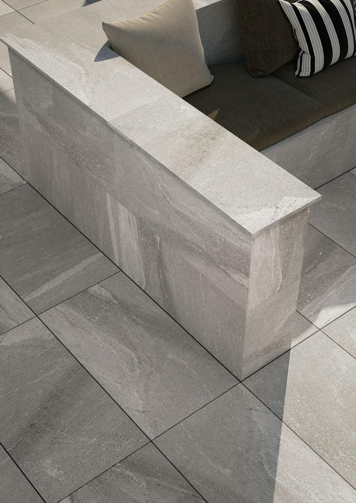 Pavimenti per esterni piastrelle gres porcellanato marazzi - Piastrelle di gres ...