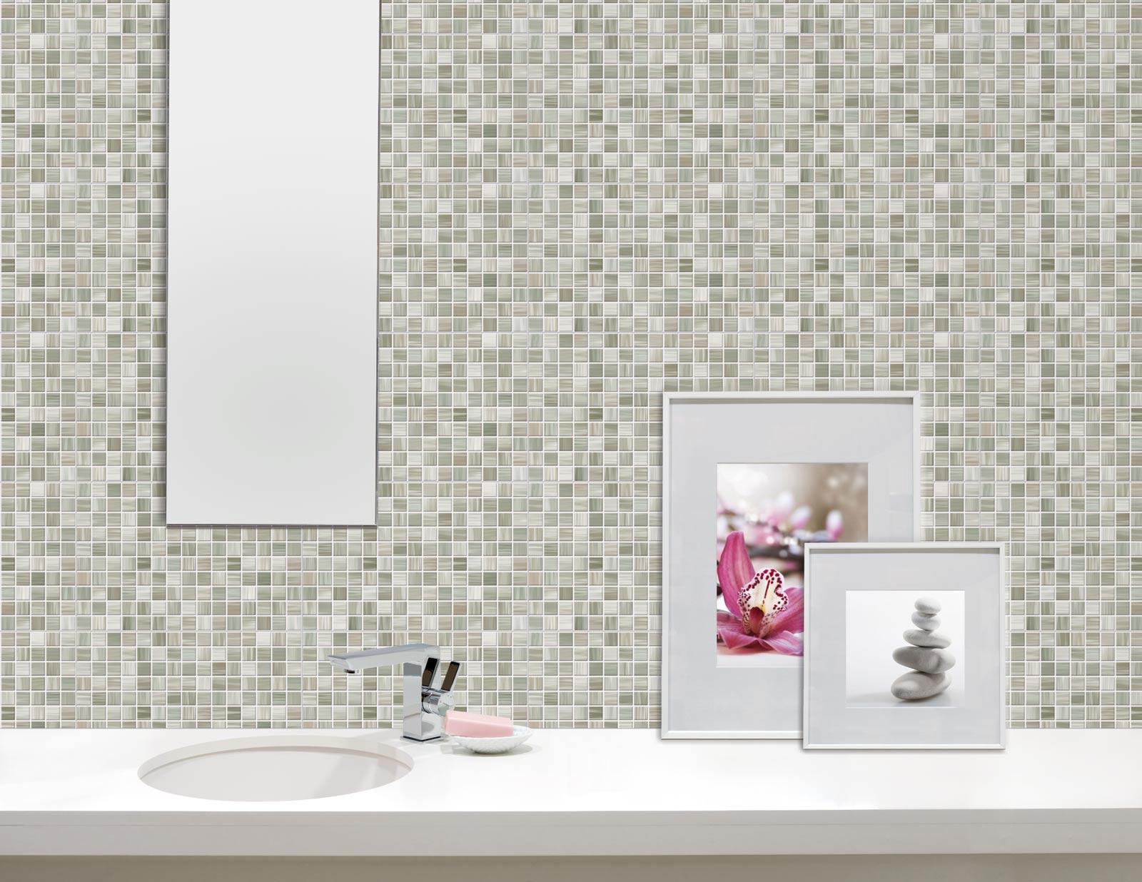 bagno mosaico grande ~ Comarg.com = Lussuoso Design del Bagno con ...