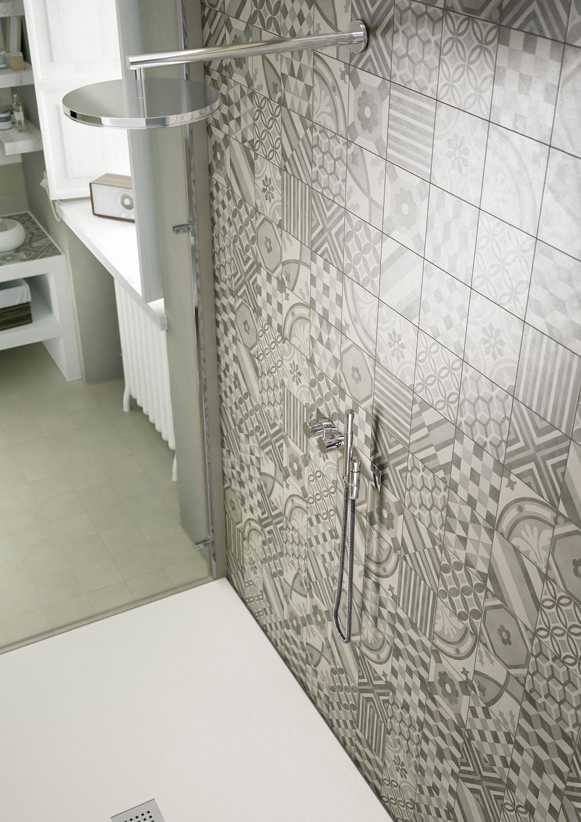 Block gres porcellanato e cementine marazzi for Piastrelle patchwork