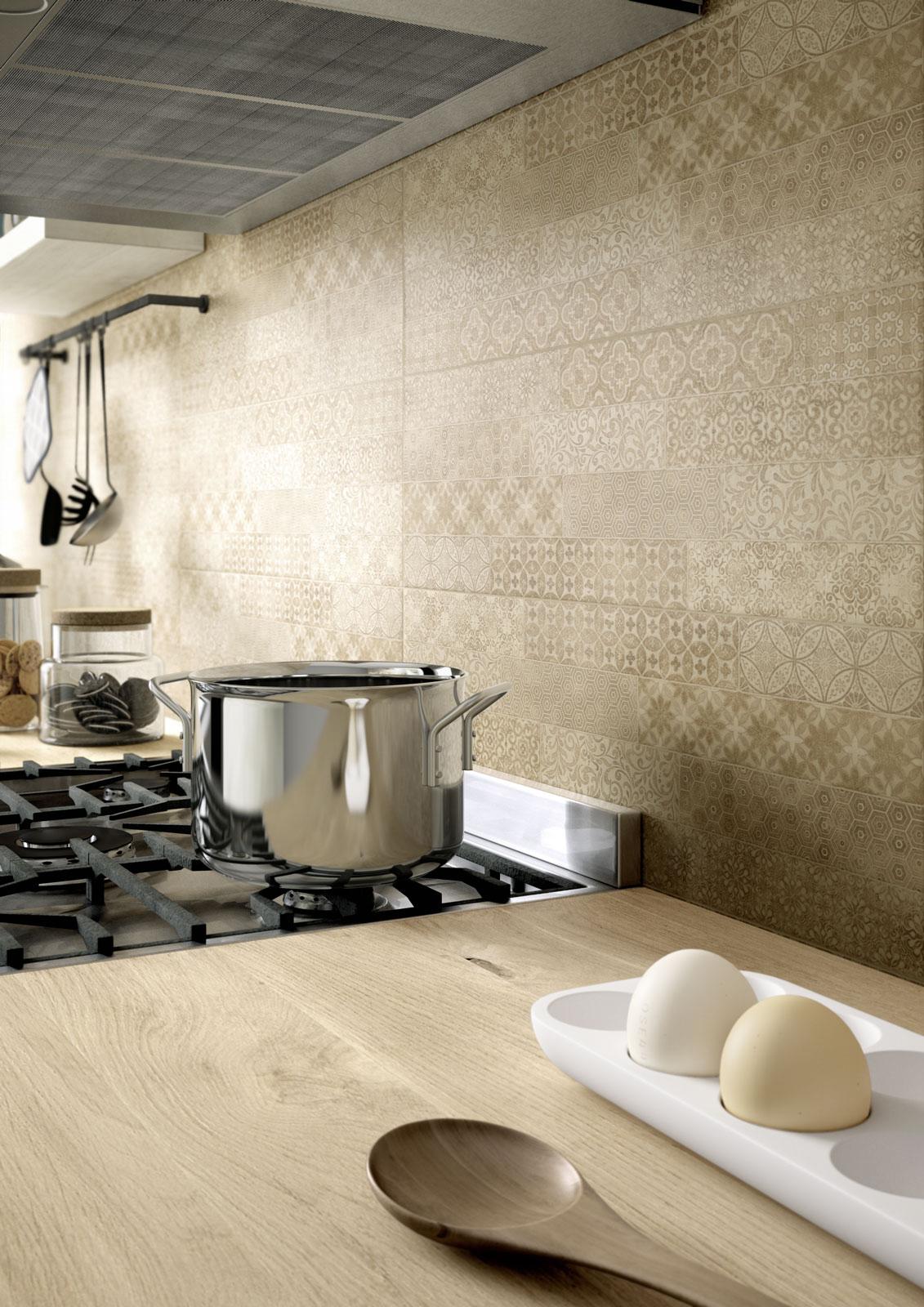 Clayline rivestimento per bagno marazzi - Rimuovere cemento da piastrelle ...