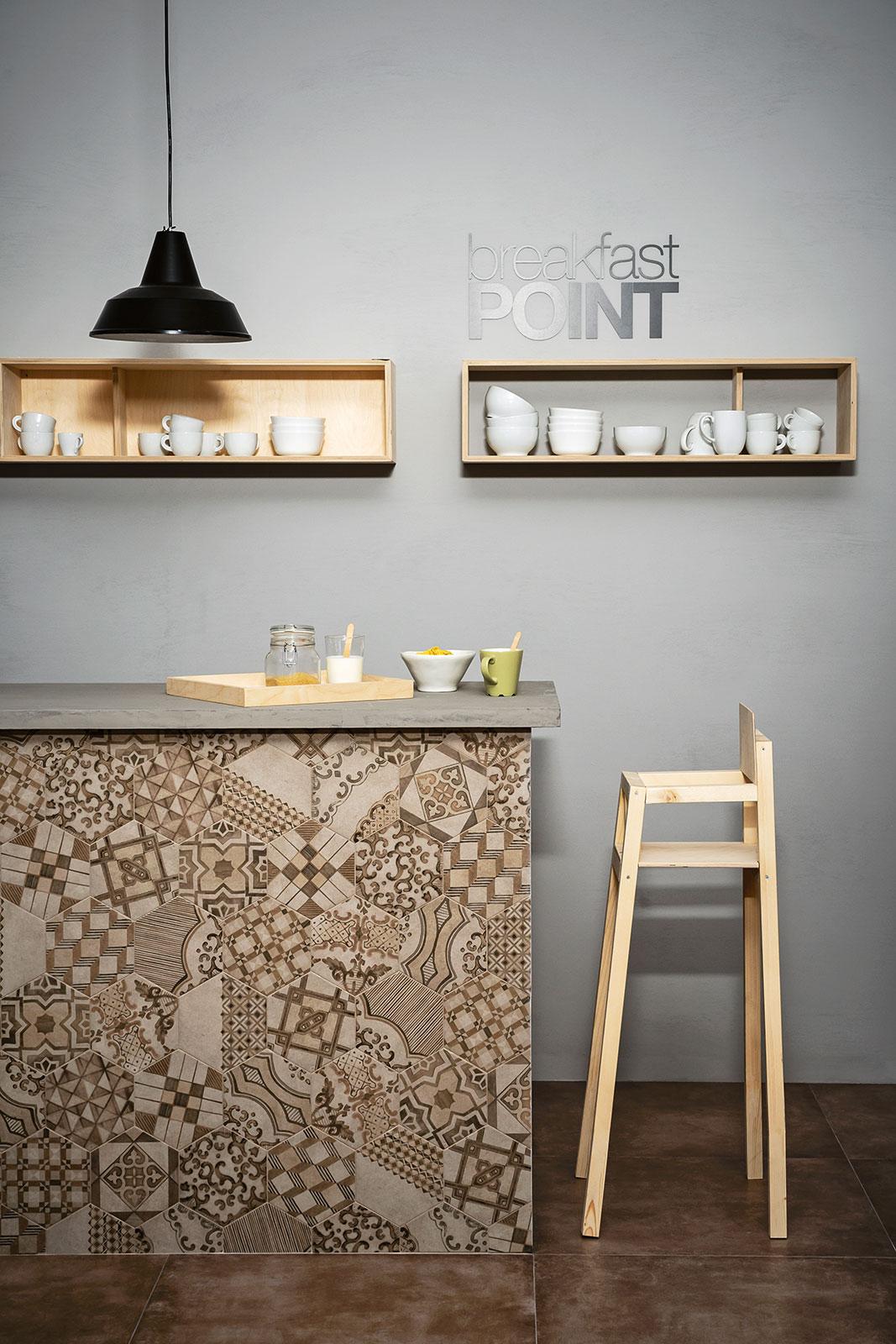 Clays gres porcellanato effetto cotto cemento marazzi for Carrelage italien marazzi